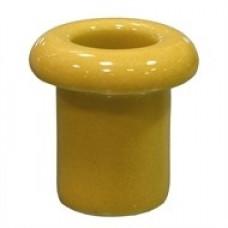 Втулка керамическая для сквозного отверстия золото